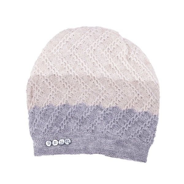 NEW! Tri-Zag Hat in Cloud to Muslin by Olena Zylak