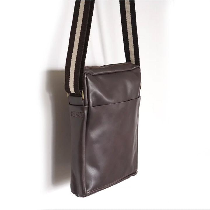 SALE! Small Bourvil Unisex Bag in Warm Grey by Stitch & Tickle
