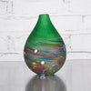 NEW! Doddy Vase in Green by Teign Valley Glass