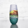 NEW! Moorland Tall Bud Vase by Teign Valley Glass
