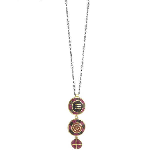 NEW! Bronze Venetian 3 Part Necklace by David Urso
