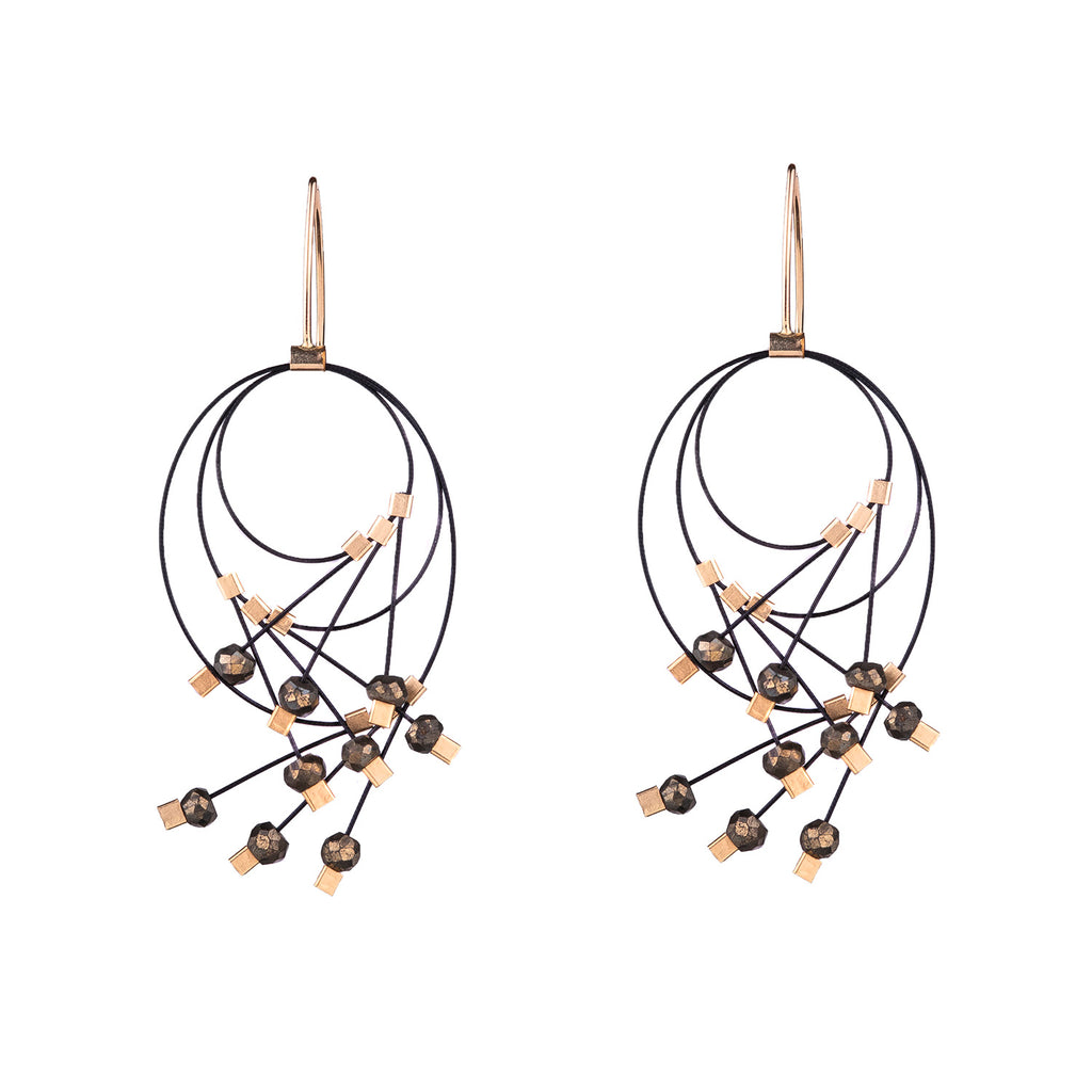 NEW! Vertigo Earrings by Meghan Patrice Riley