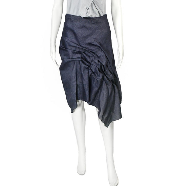 SALE! Via Skirt in Indigo by Veronique