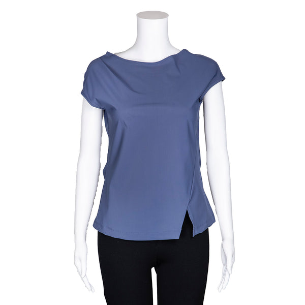 NEW! Bardot Top in Violet by Porto