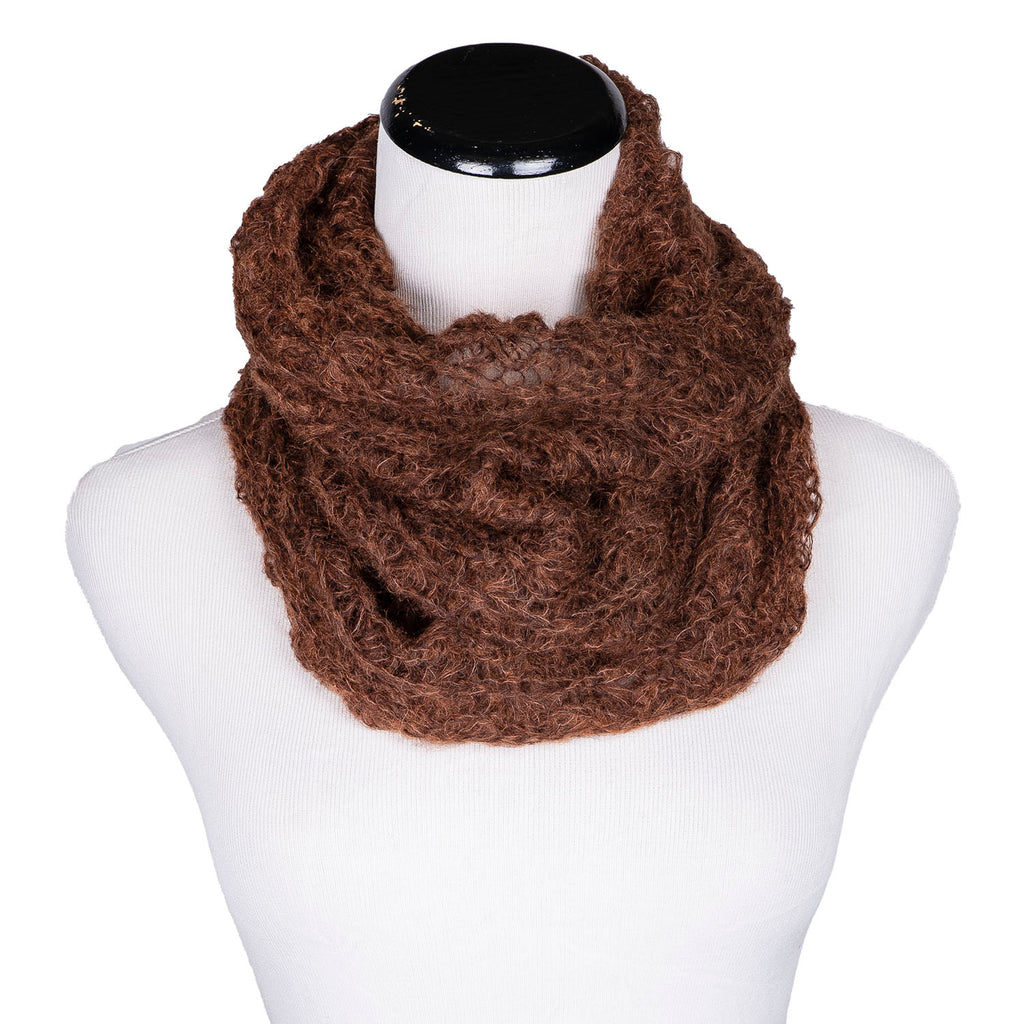 NEW! Web Loop Scarf in Auburn by Olena Zylak