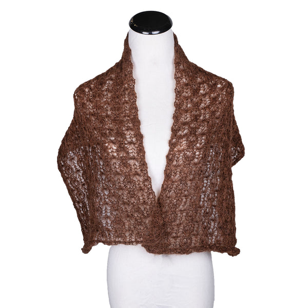 NEW! Web Topper Scarf in Auburn by Olena Zylak