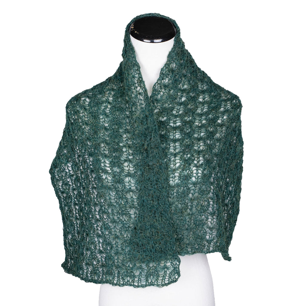 NEW! Web Topper Scarf in Forest by Olena Zylak