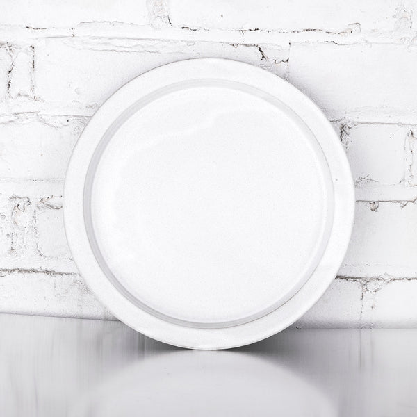 NEW! White Ceramic Plates by Tracie Hervy