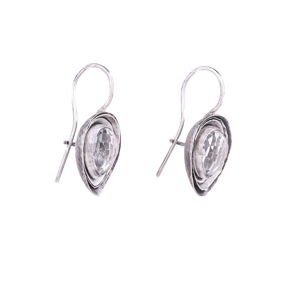 NEW! White Topaz Cusp Earrings by Austin Titus Studio