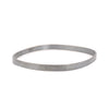5mm Wide Square Densa Bangle by Colleen Mauer Designs