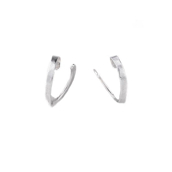 NEW! Extra Small Spring Hoop Earrings by Melle Finelli