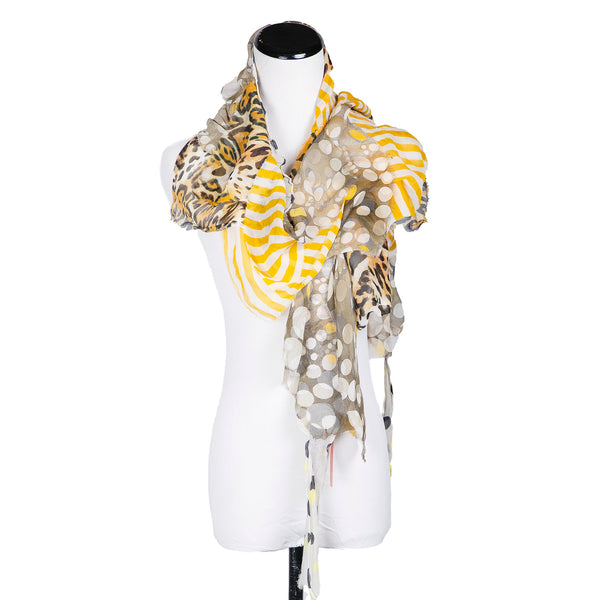 NEW! Flutter Scarf in Yellows by B. Felt