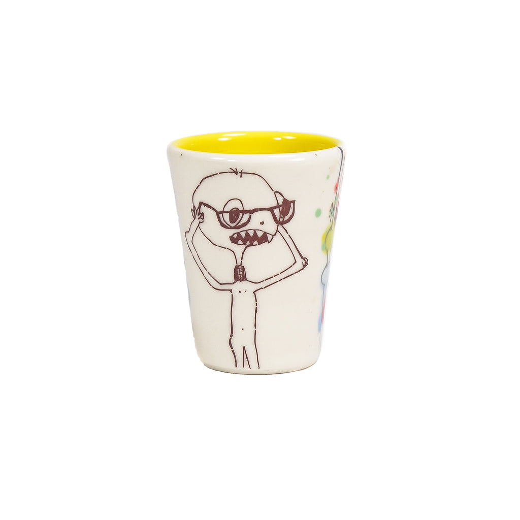 NEW! Monster Shot Glass in Multiple Colors by Lollipop Pottery