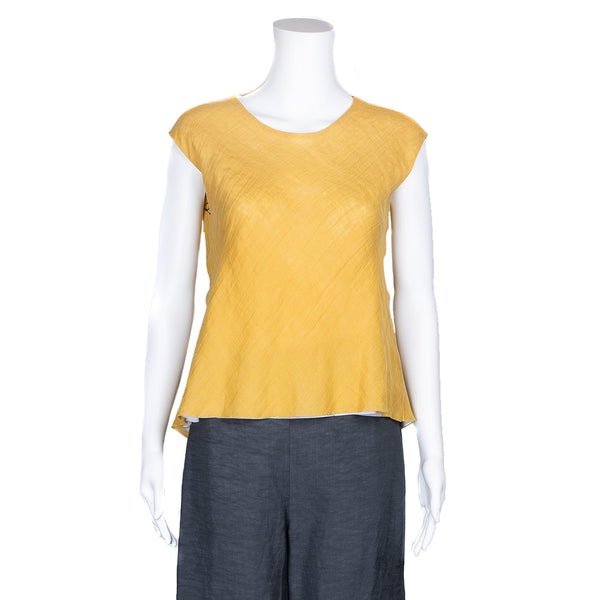 SALE! Savannah Top in Yellow by Veronique