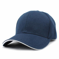 Casual Baseball Cap Navy Blue