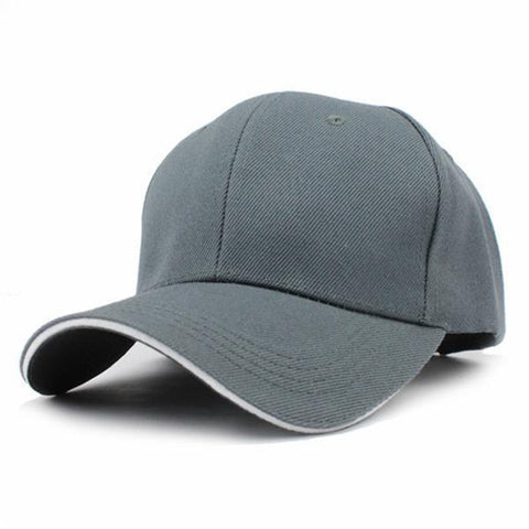 Casual Baseball Cap Grey