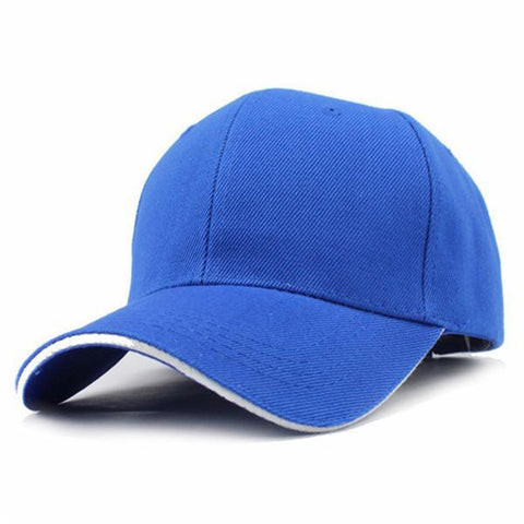 Casual Baseball Cap Blue