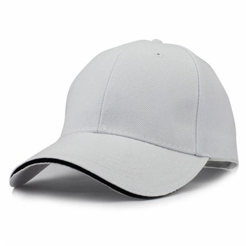 Casual Baseball Cap White