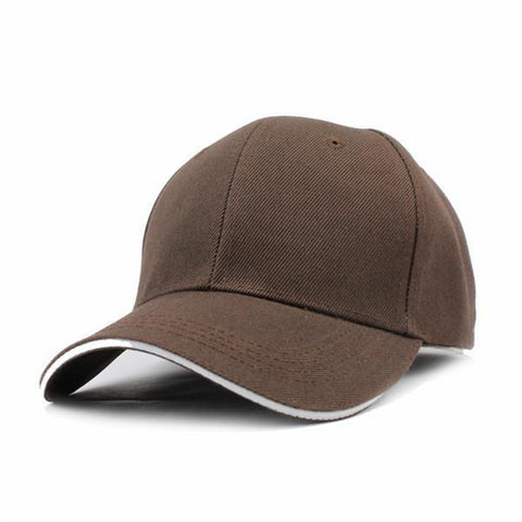 Casual Baseball Cap Brown