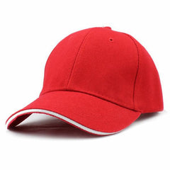 Casual Baseball Cap Red