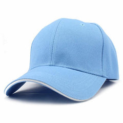 Casual Baseball Cap Light Blue