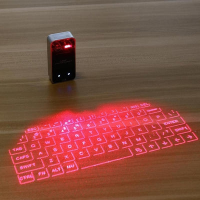 Bluetooth virtual laser keyboard Wireless Projection mini keyboard Portable for computer Phone pad Laptop With Mouse function - Divn$ProV