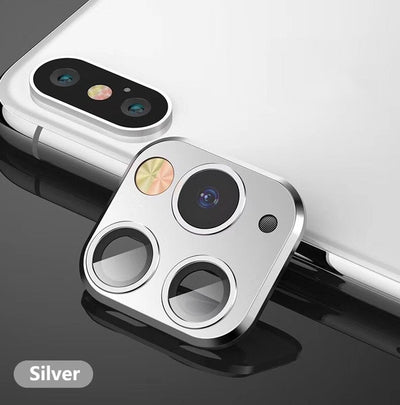 Titanium Alloy metal Camera Lens Seconds Change For iPhone 11 Pro Lens Ring Cover For iPhone X XS MAX XR Camera Protective Cover - Divn$ProV