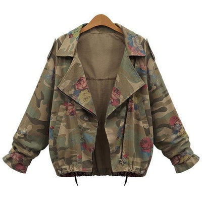Women Denim Army Green Jackets S-2XL - Divn$ProV