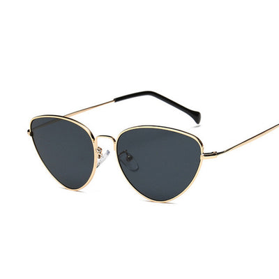 Women Retro Vintage Small Face Luxury Sunglasses - Divn$ProV