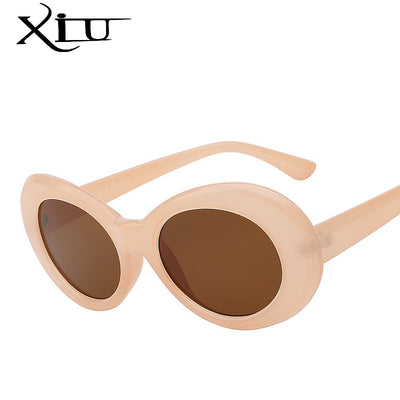 Women Oval Top Quality Sunglasses UV400 - Divn$ProV