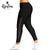 Women's Plus Size Lace Up Leggings