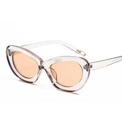 Unisex Cat Eye Candy Colored Vintage Sunglasses - Divn$ProV