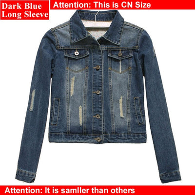 Women Plus Size Light Blue Bomber Jackets - Divn$ProV
