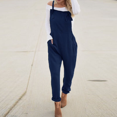 Women Party Slim Fit Overalls Bodysuit - Divn$ProV
