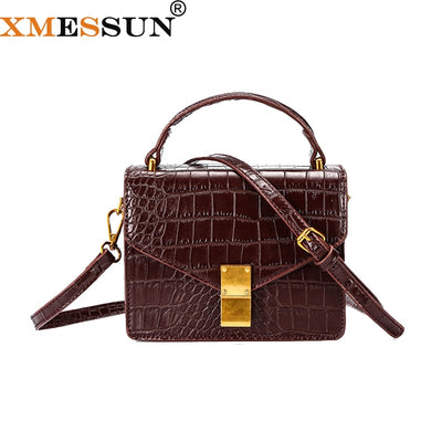 Women's Shoulder Female Messenger Alligator Bag - Divn$ProV
