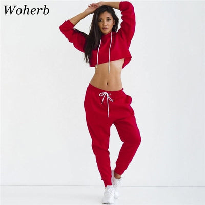 Women Hooded Sweatsuits - Divn$ProV