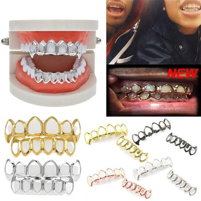 1Pcs Denture care Hip Hop Teeth Grillz for Top Or Bottom - Divn$ProV