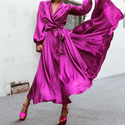 Women Vintage Elegant Sexy Party Dress - Divn$ProV