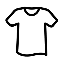 Blank T-Shirt Icon