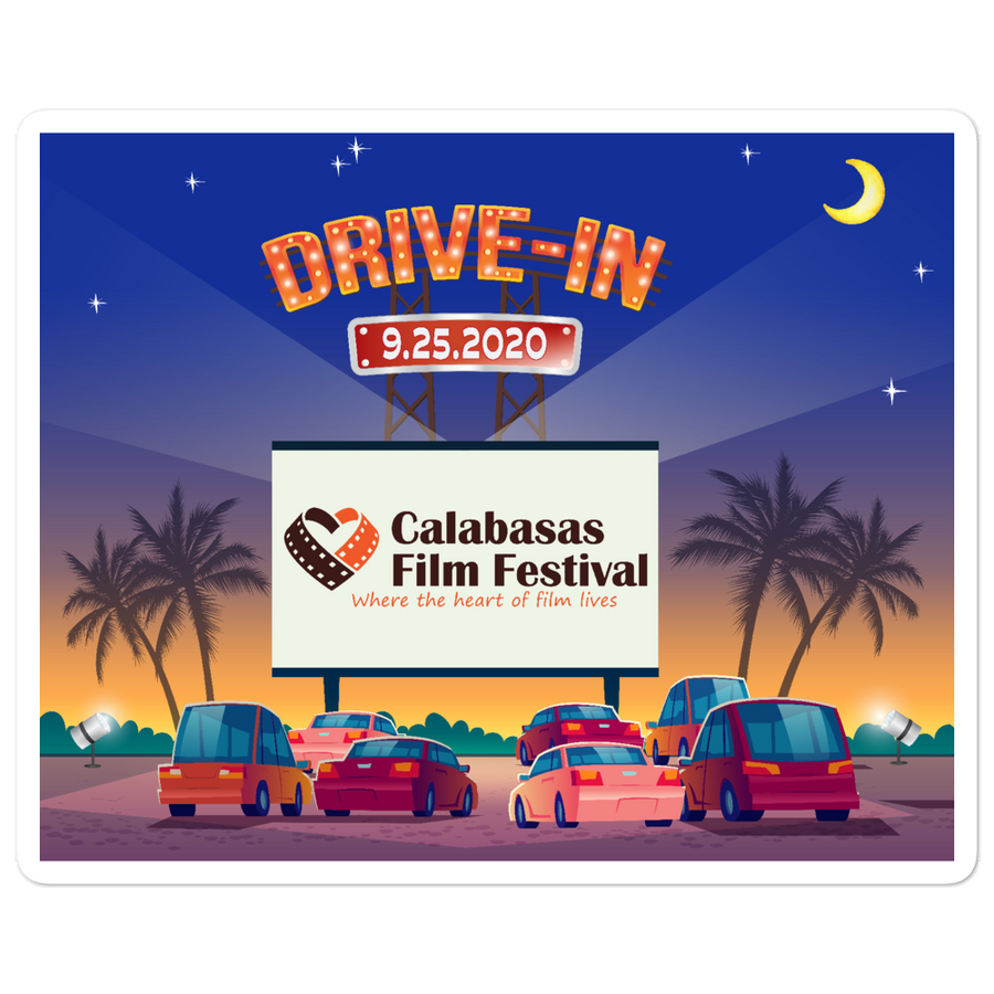 CFF Drive In Sticker