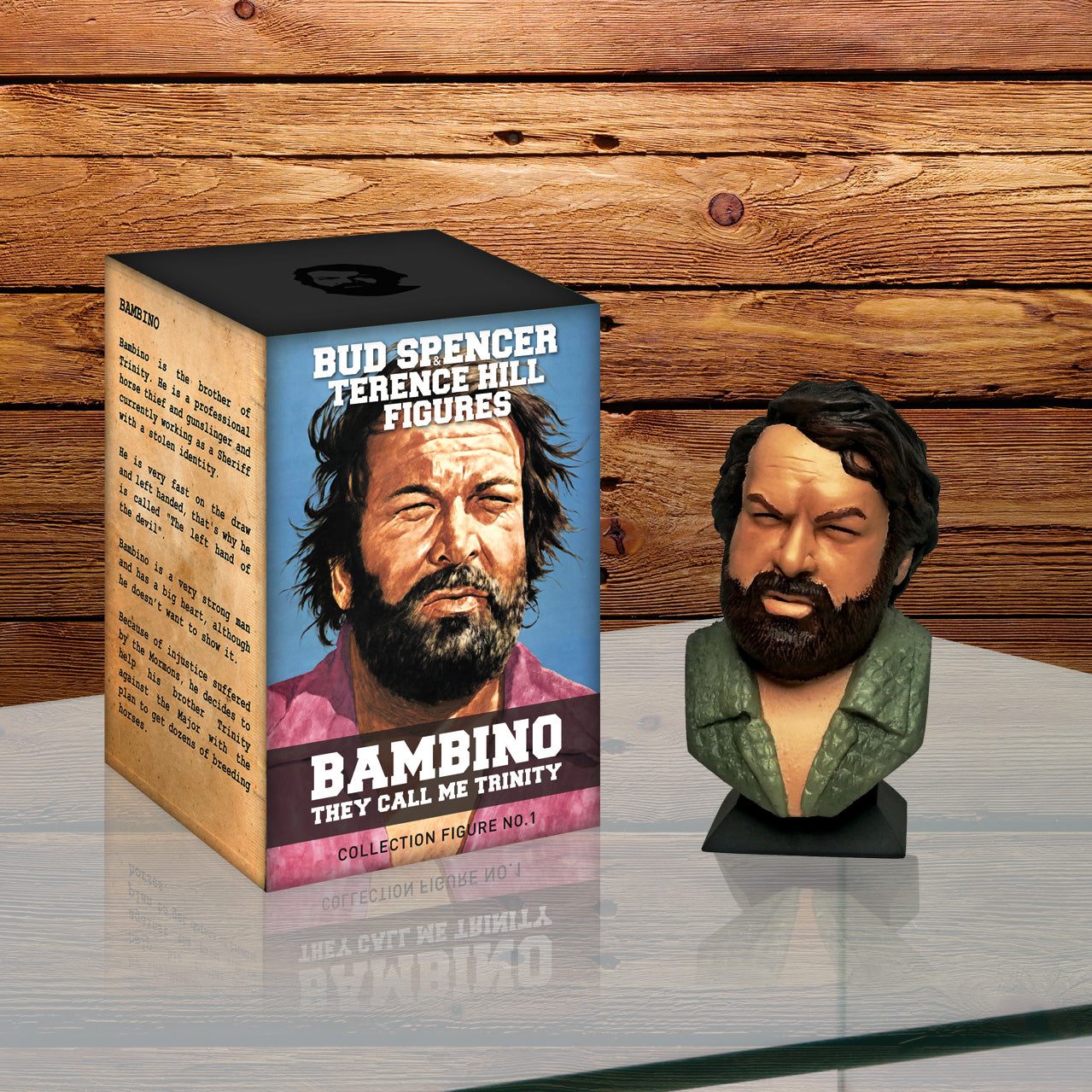 Der Kleine Bud Spencer Terence Hill Figure Collection No1 Bambino