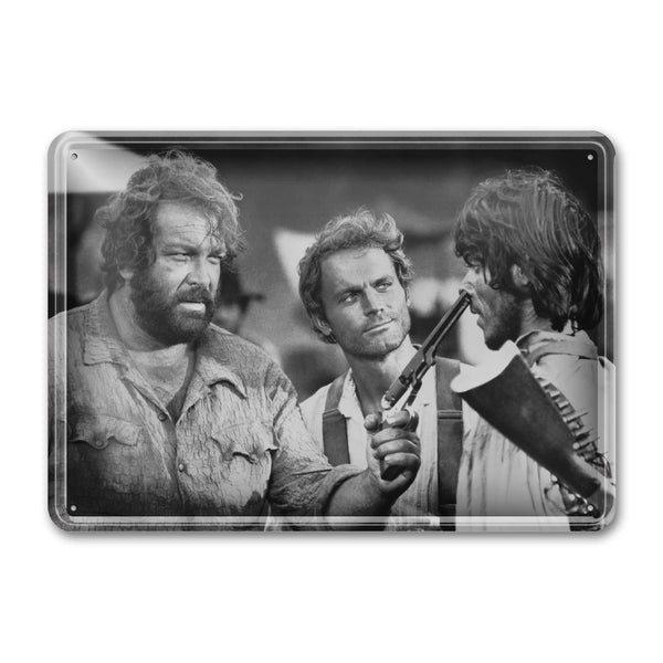 Emiliano / They Call Me Trinity - Tin Sign (30x23cm) - Bud Spencer®
