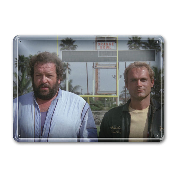 Crime Busters - Tin Sign (30x23cm) - Bud Spencer®