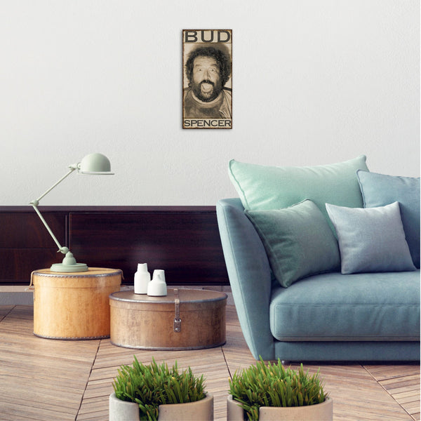 B.Joe Photo Booth - MDF-Plate (20x40cm) - Bud Spencer®