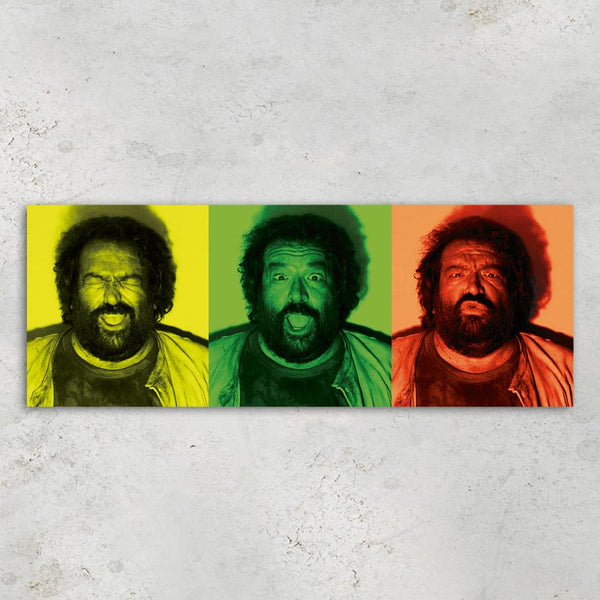 B.Joe Photo Booth - Glass Print (80x30cm) - Bud Spencer®