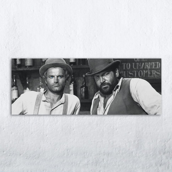 Trinity Is Still My Name - Glass Print (80x30cm) - Bud Spencer®