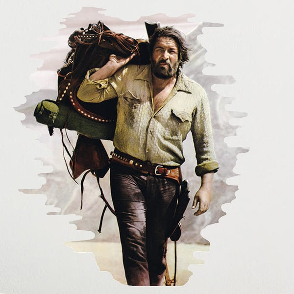 Bud Spencer / Bambino - Wall Decal (50x70cm) - Bud Spencer®