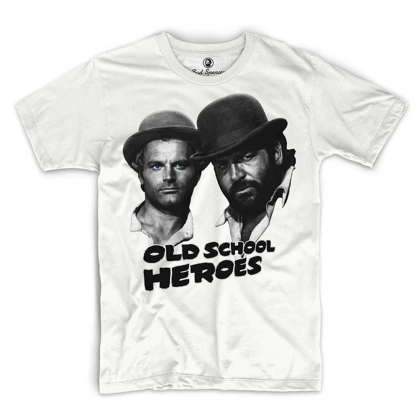 Old School Heroes T Shirt Bud Spencer