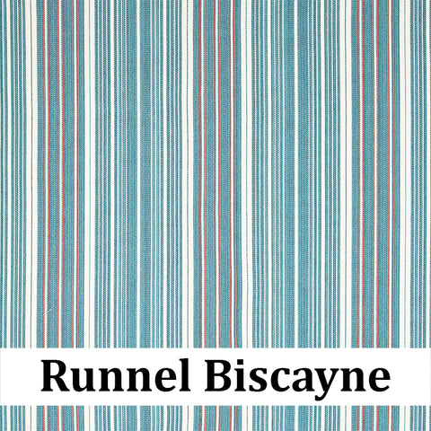 Custom Patio Outlet Stock Fabric - Runnel Biscayne