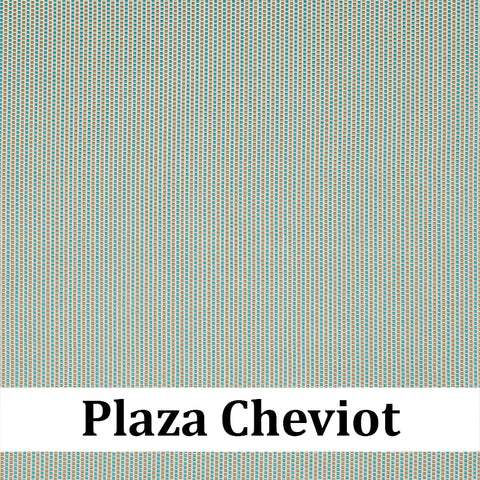Custom Patio Outlet Stock Fabric - Plaza Cheviot